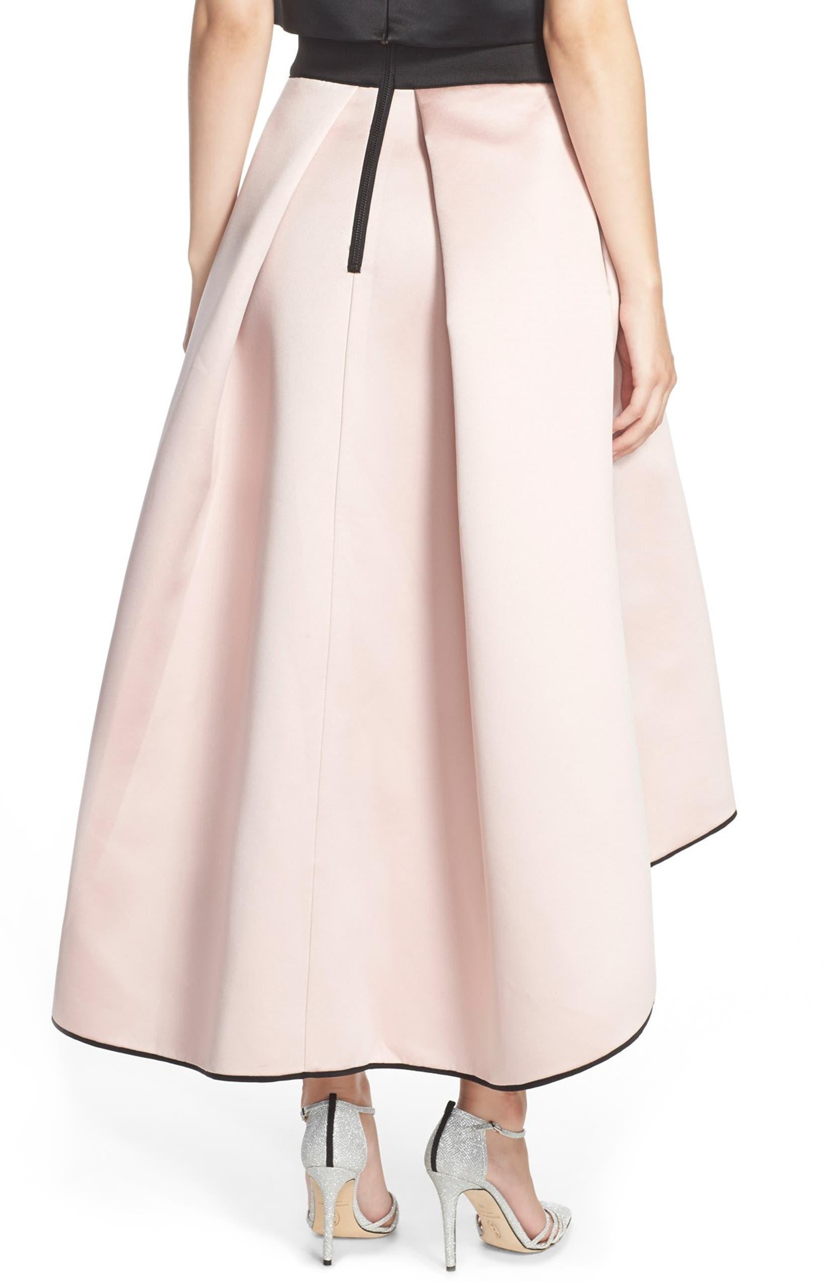 c40673a9f23773 Milly Tuck Pleat Duchess Satin Ball Skirt   Nordstrom