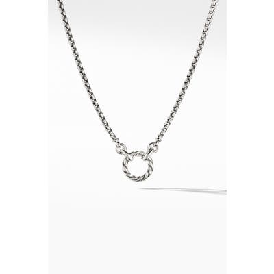 David Yurman Amulet Vehicle Box Chain Necklace
