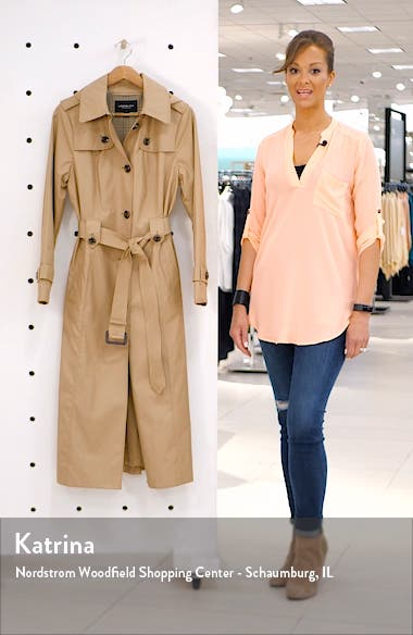 Long Hooded Trench Coat, sales video thumbnail