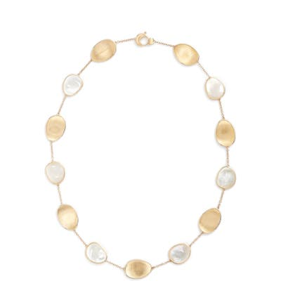 Marco Bicego Lunaria Mother-Of-Pearl Collar Necklace
