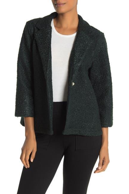 Image of Bobeau Boucle Knit Jacket