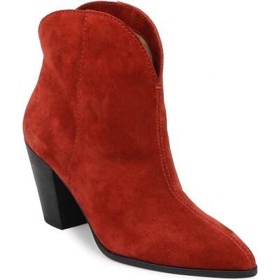 Splendid Paisley Bootie- Red