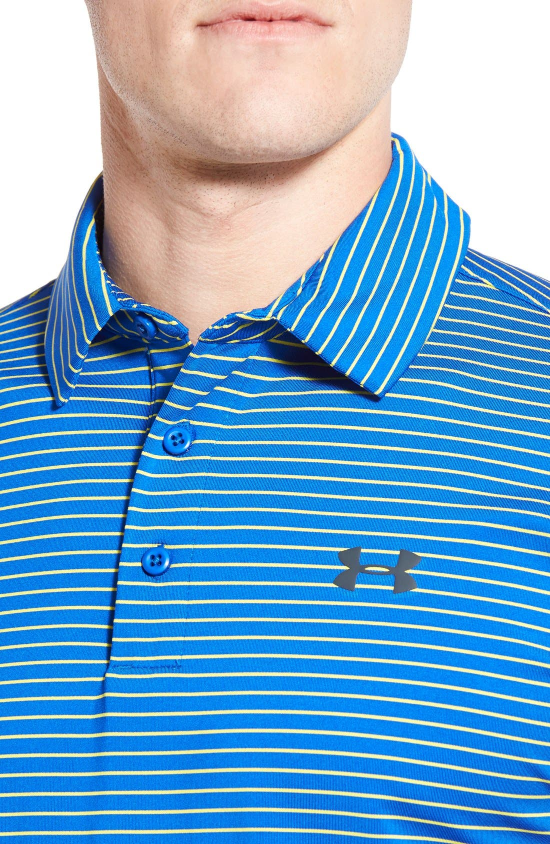 ,                             'Playoff' Loose Fit Short Sleeve Polo,                             Alternate thumbnail 201, color,                             405