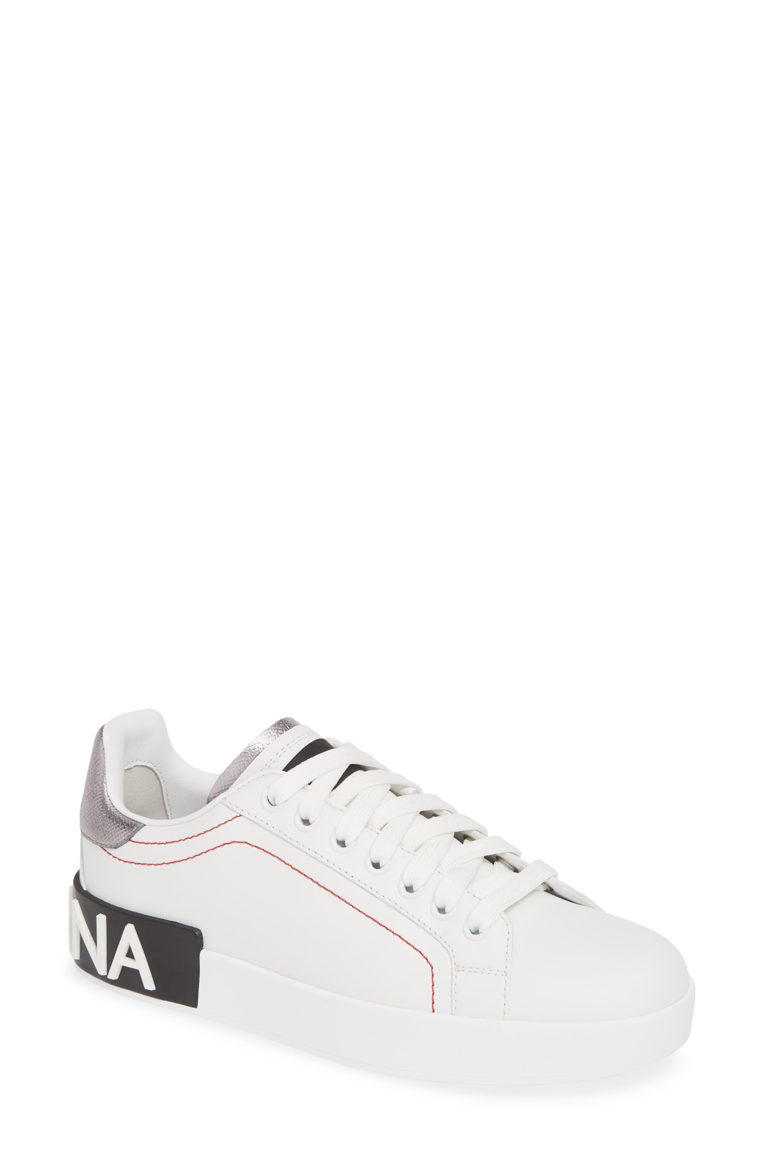 Dolce & gabbana Portofino Sneaker - White
