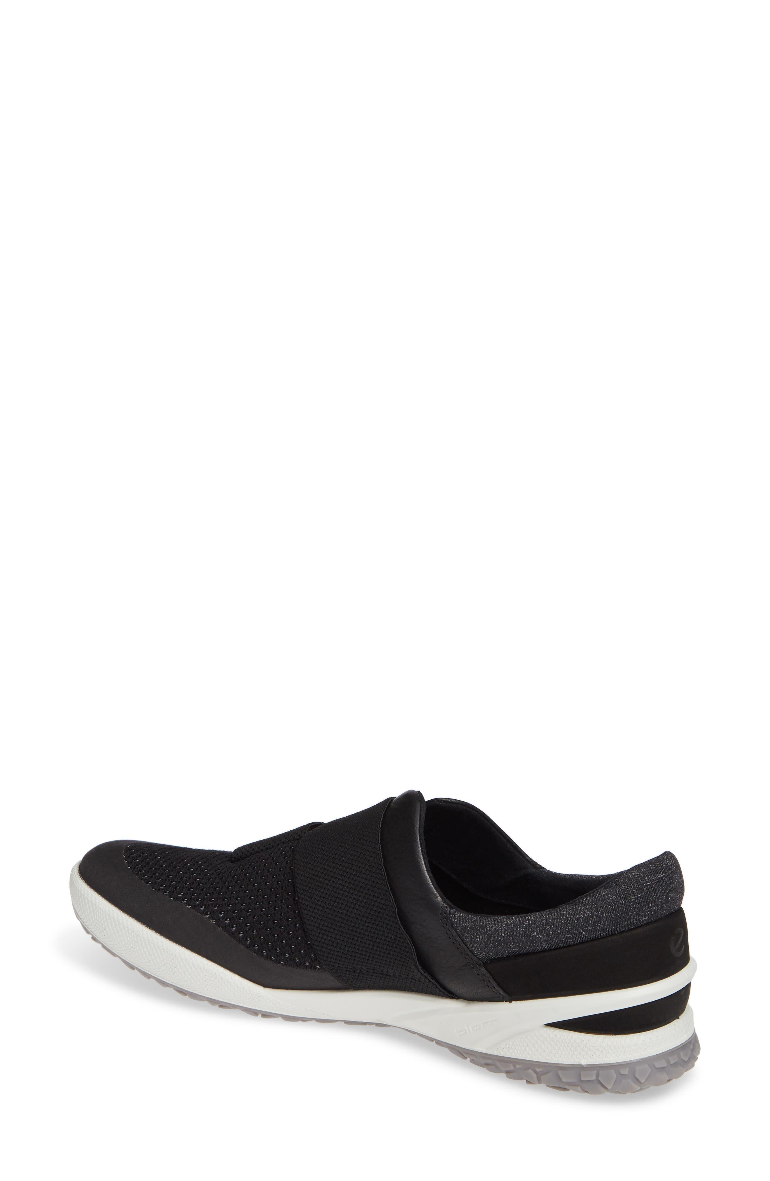 ,                             BIOM Slip-On Sneaker,                             Alternate thumbnail 2, color,                             BLACK LEATHER