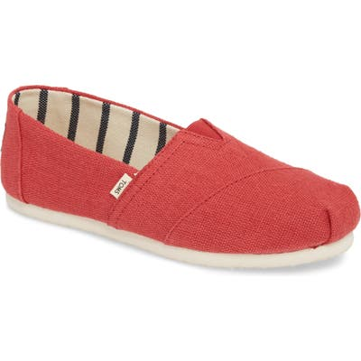 Toms Alpargata Slip-On, Red