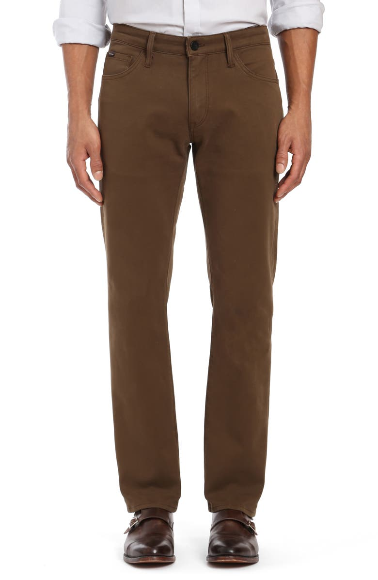 34 HERITAGE Courage Straight Leg Twill Pants, Main, color, 200