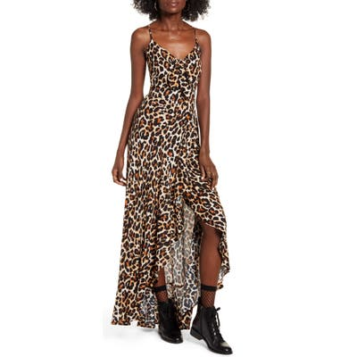Band Of Gypsies Born To Be Wild High/low Dress, Brown