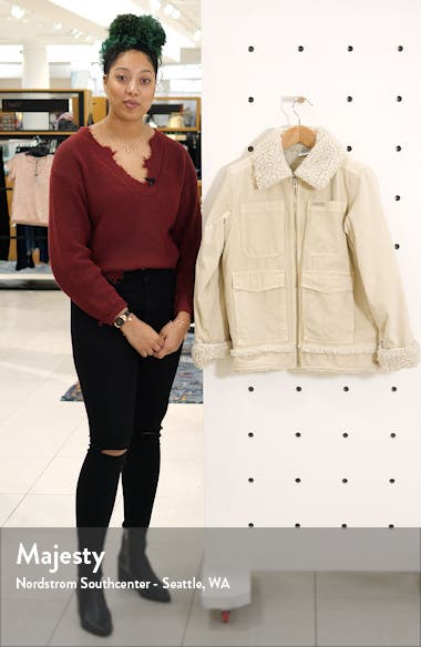 Fleece Lined Utility Jacket, sales video thumbnail