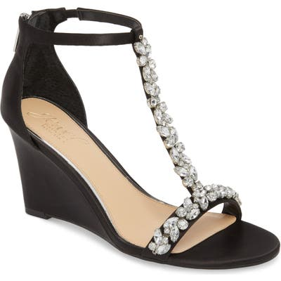 Jewel Badgley Mischka Meryl Wedge Sandal