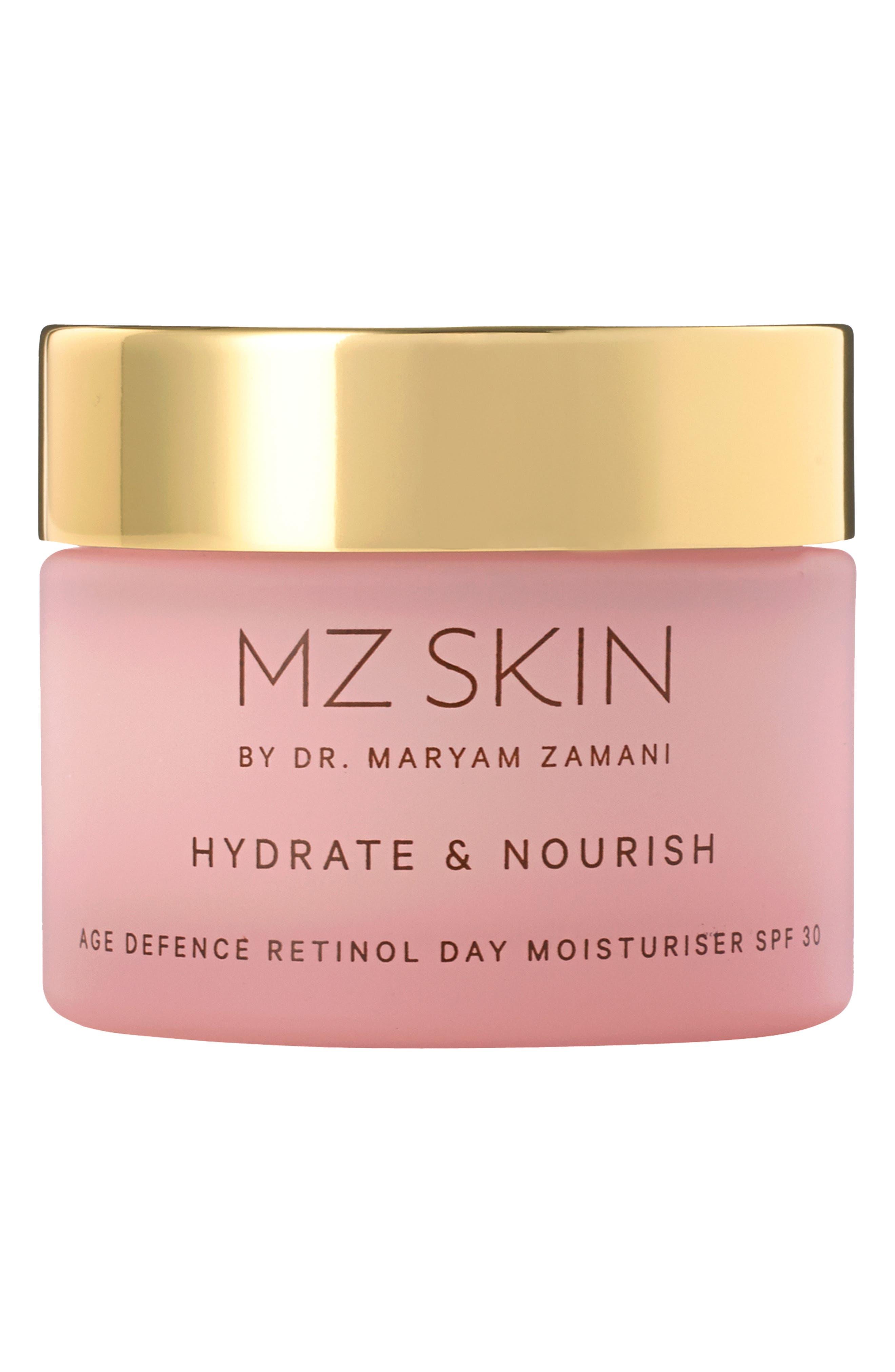 Hydrate & Nourish Age Defense Retinol Moisturizer Spf 30