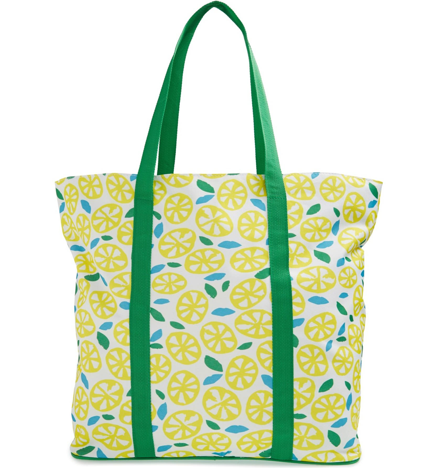 f8adc57b4642 Tri-Coastal Design 'Yellow Citrus' Beach Tote with Bikini Bag ...