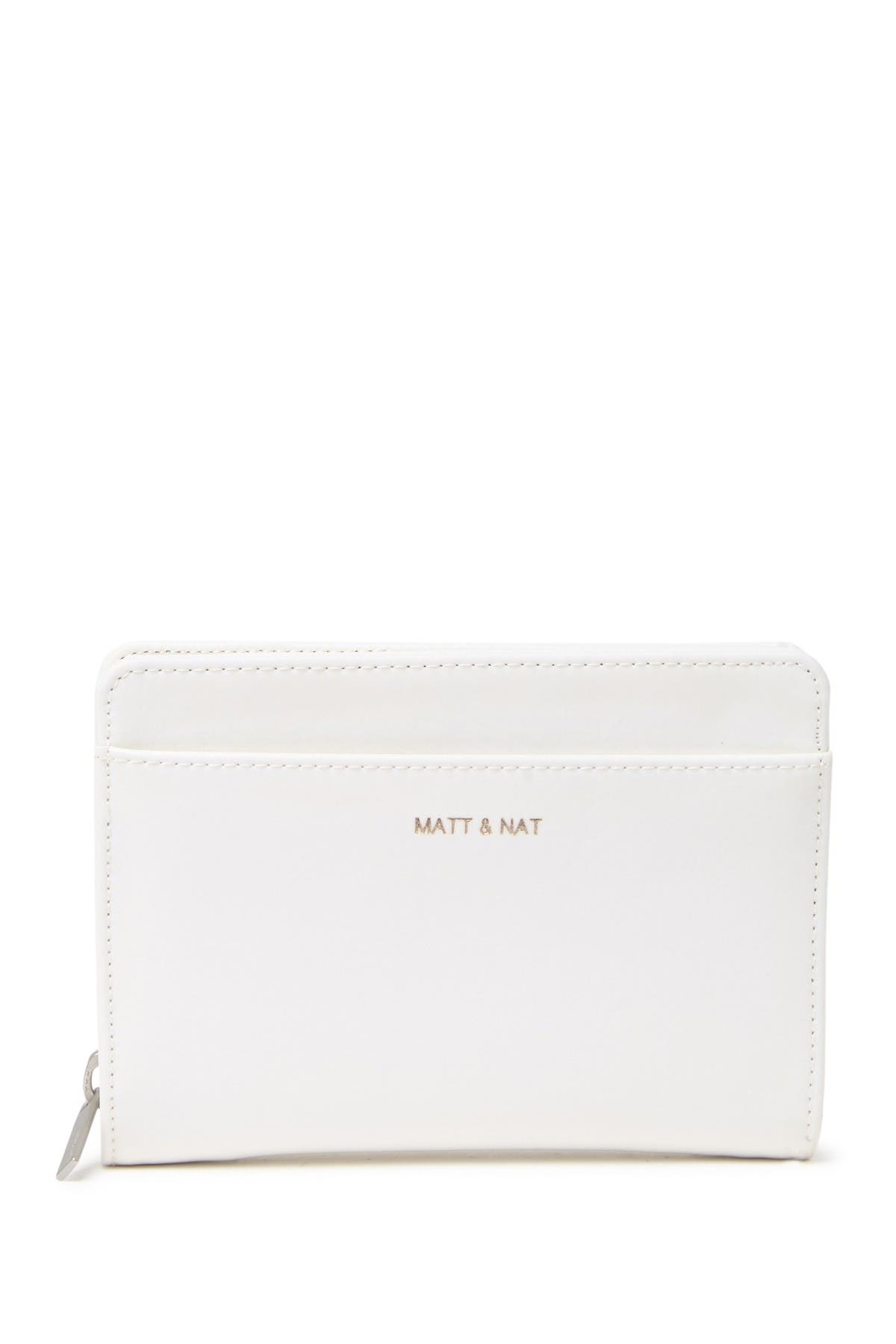 Image of Matt & Nat Webber Vegan Leather Small Zip Wallet + Card Case