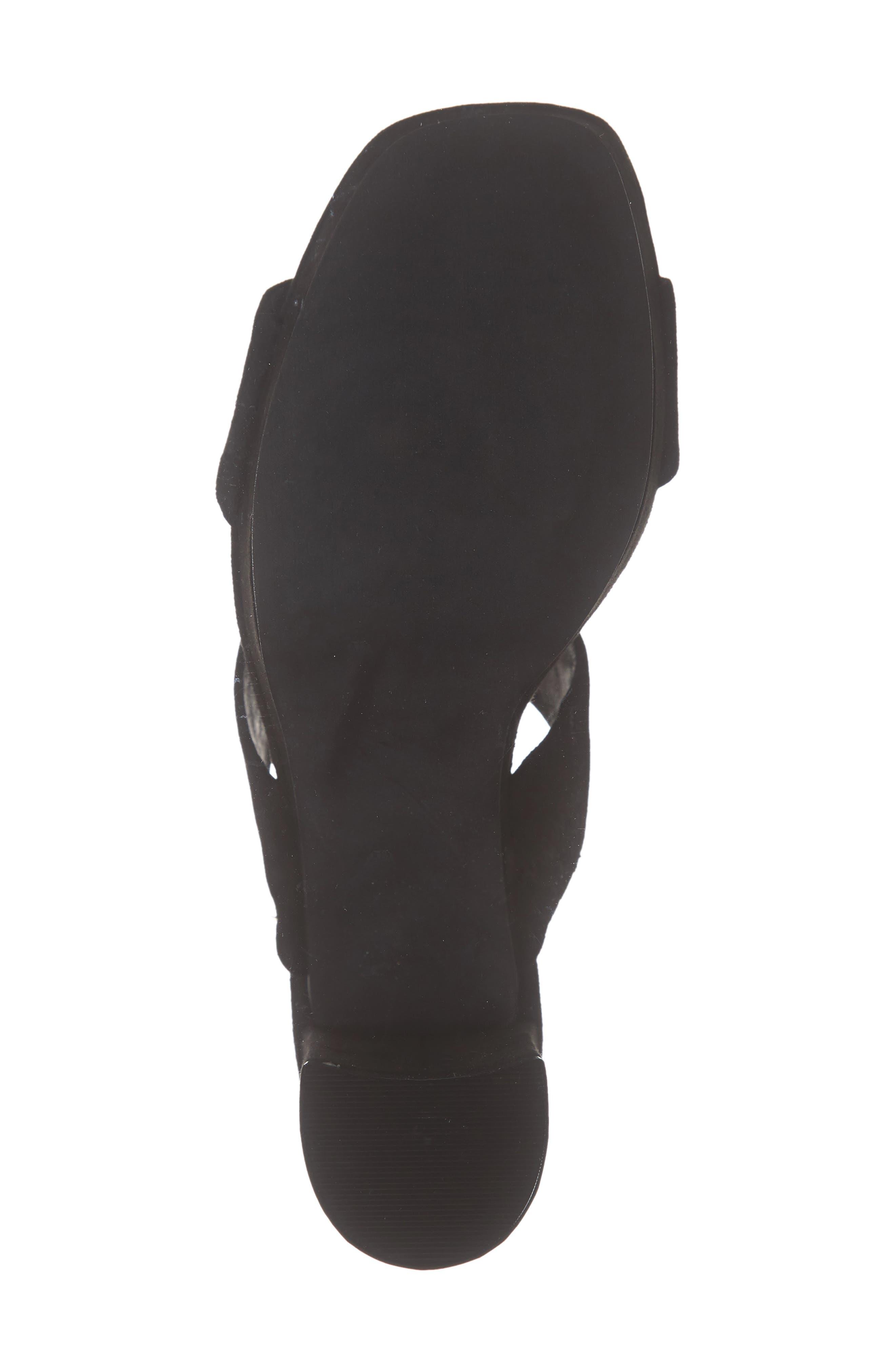 ,                             Adriana-2 Platform Slide Sandal,                             Alternate thumbnail 7, color,                             BLACK SUEDE