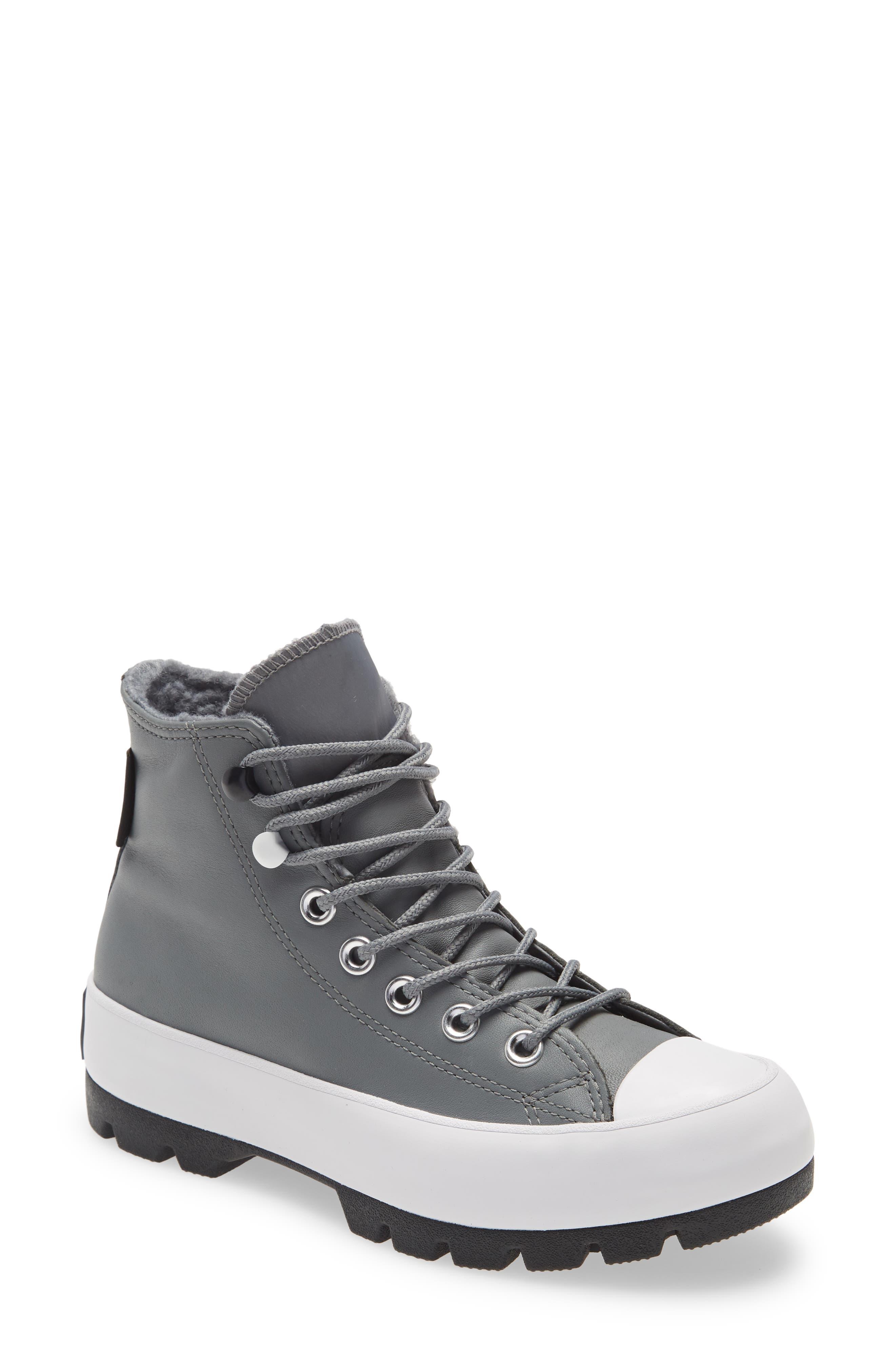 Women s Converse Chuck Taylor All Star Lugged Waterproof High Top Sneaker E51
