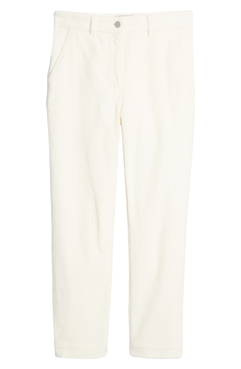 EVERLANE The Corduroy Straight Leg Crop Pants, Main, color, BONE