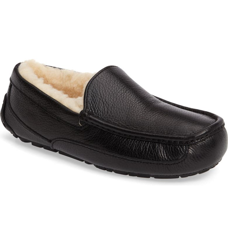 7817e02a8f2 Ascot Leather Slipper