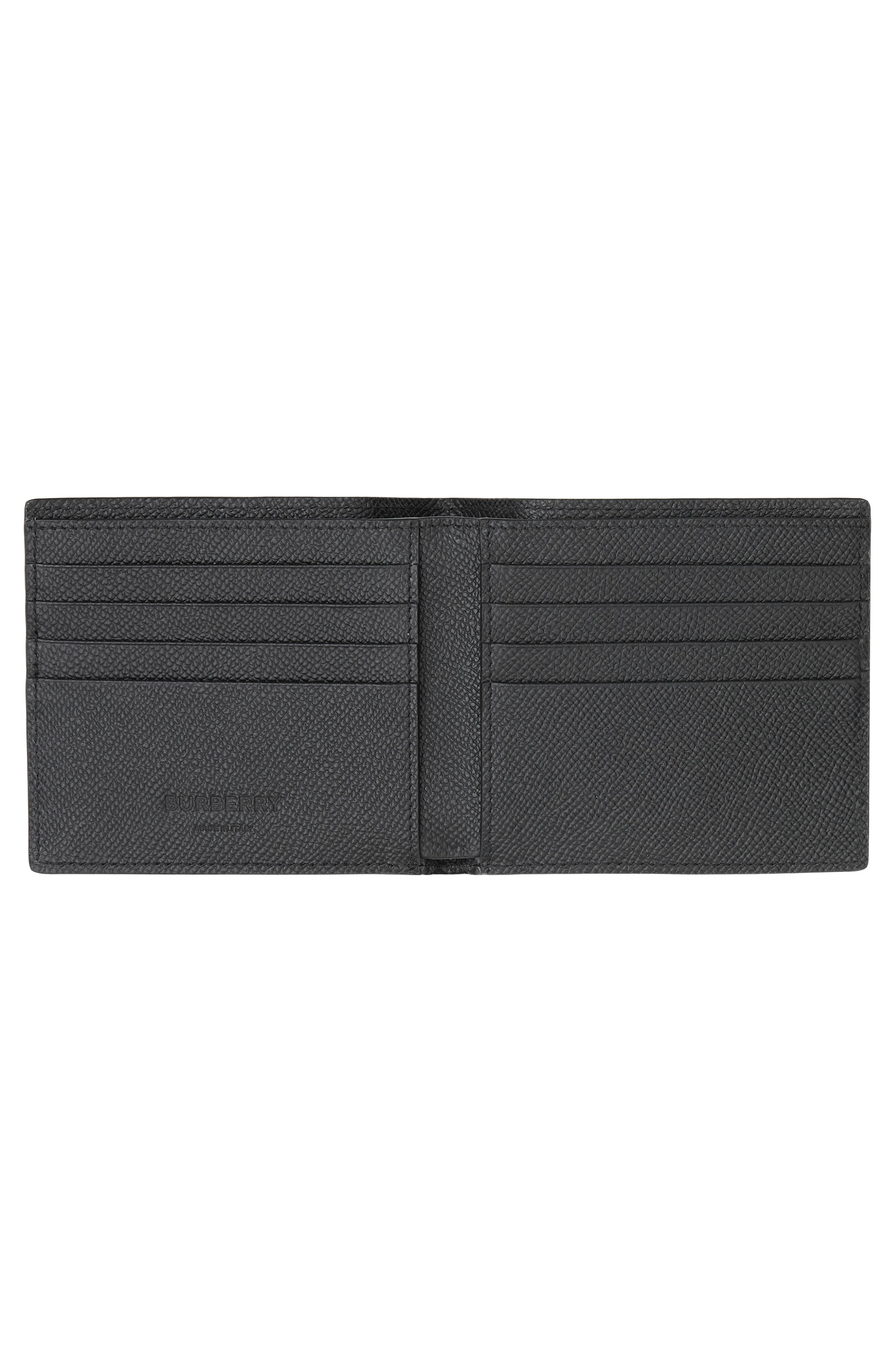 ,                             Leather International Wallet,                             Alternate thumbnail 2, color,                             BLACK