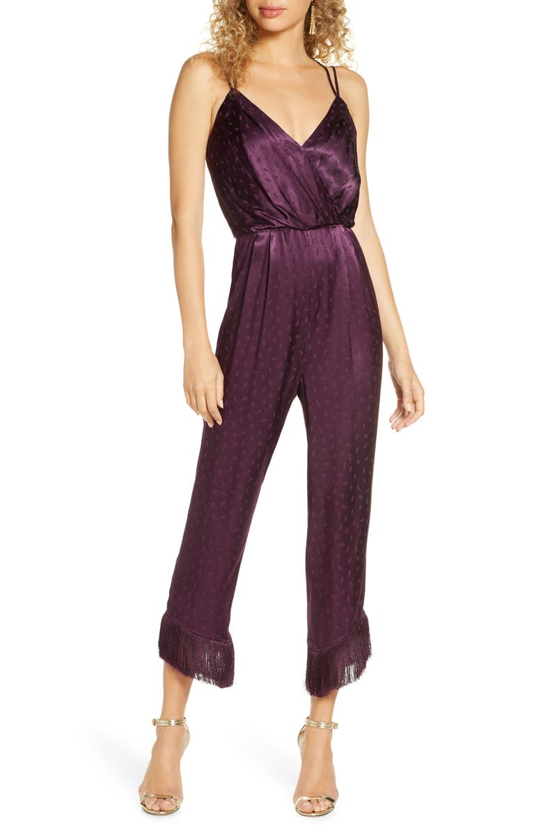 ALI & JAY Body Heat Jumpsuit, Main, color, DEEP PLUM