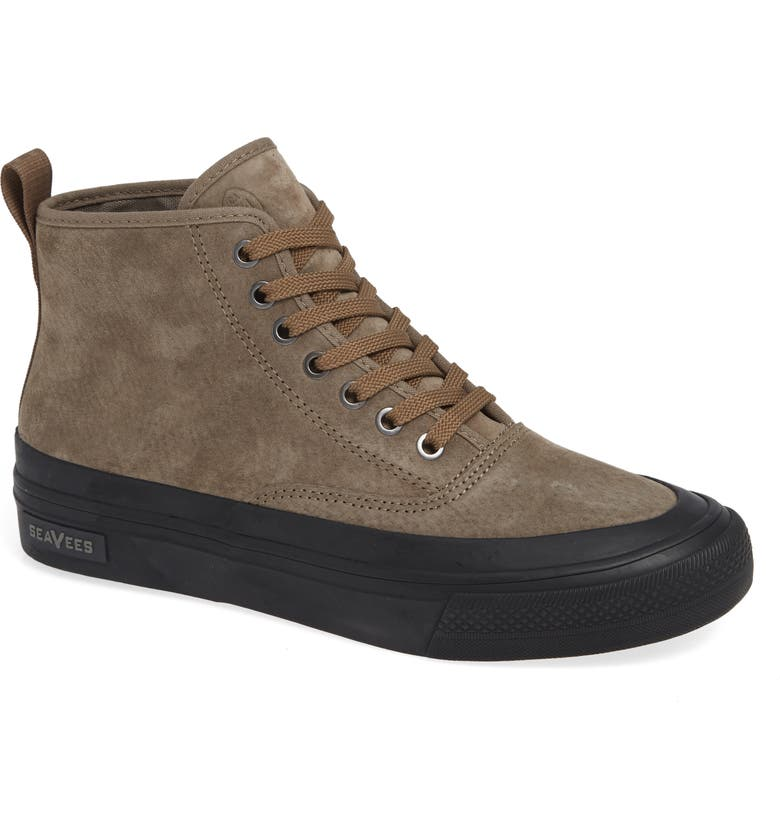 SEAVEES Mariners Waterproof Sneaker Boot, Main, color, BROWN SUEDE