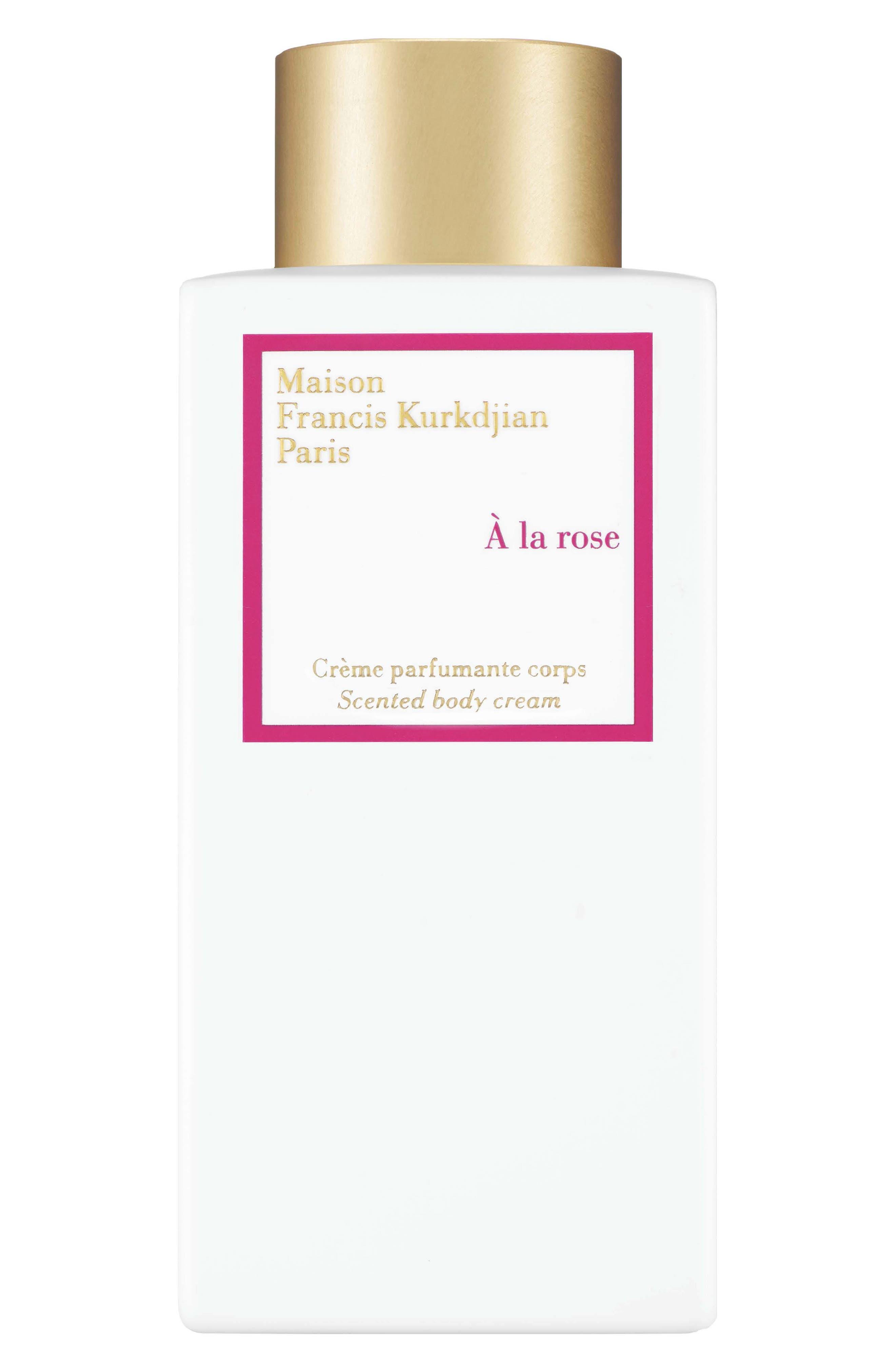 Paris A La Rose Scented Body Cream