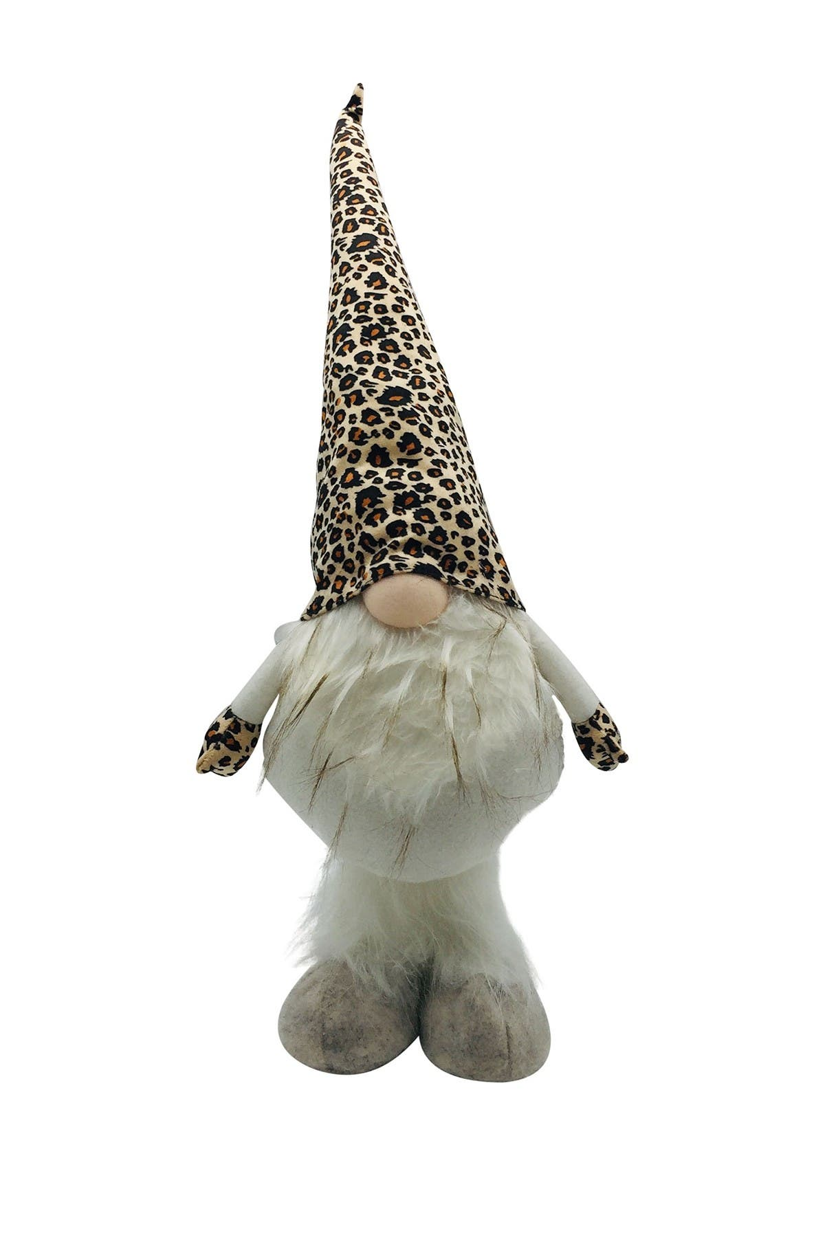 Image of G.T. DIRECT Beige Cheetah Fabric Gnome