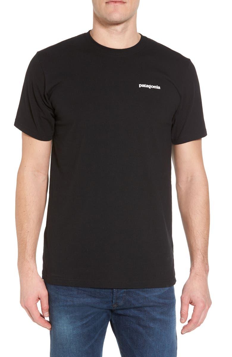 PATAGONIA Responsibili-Tee T-Shirt, Main, color, BLACK