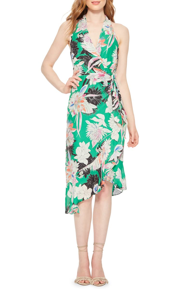 PARKER Addie Print Halter Dress, Main, color, 329