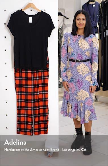 Knit & Plaid Fleece Pajamas, sales video thumbnail