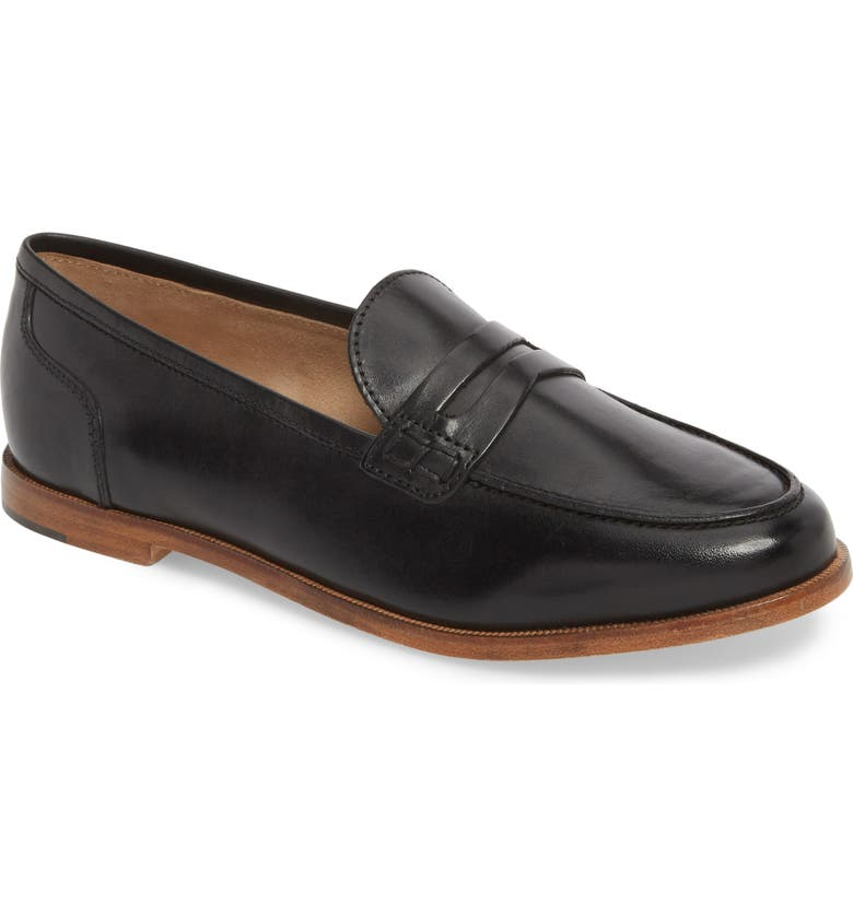 J.CREW Ryan Penny Loafer, Main, color, 001