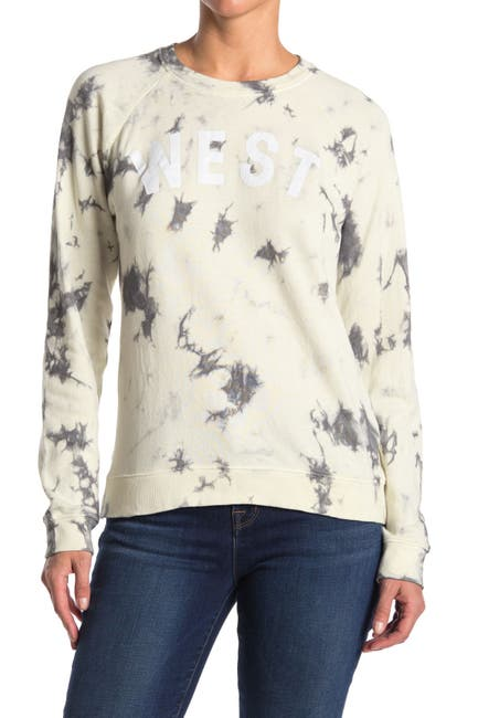 Image of Lucky Brand 'West' Tie Dye Lucky Sweatshirt
