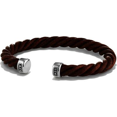 David Yurman Leather Cuff Bracelet