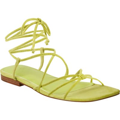 Marc Fisher Ltd Marina Lace-Up Sandal, Green
