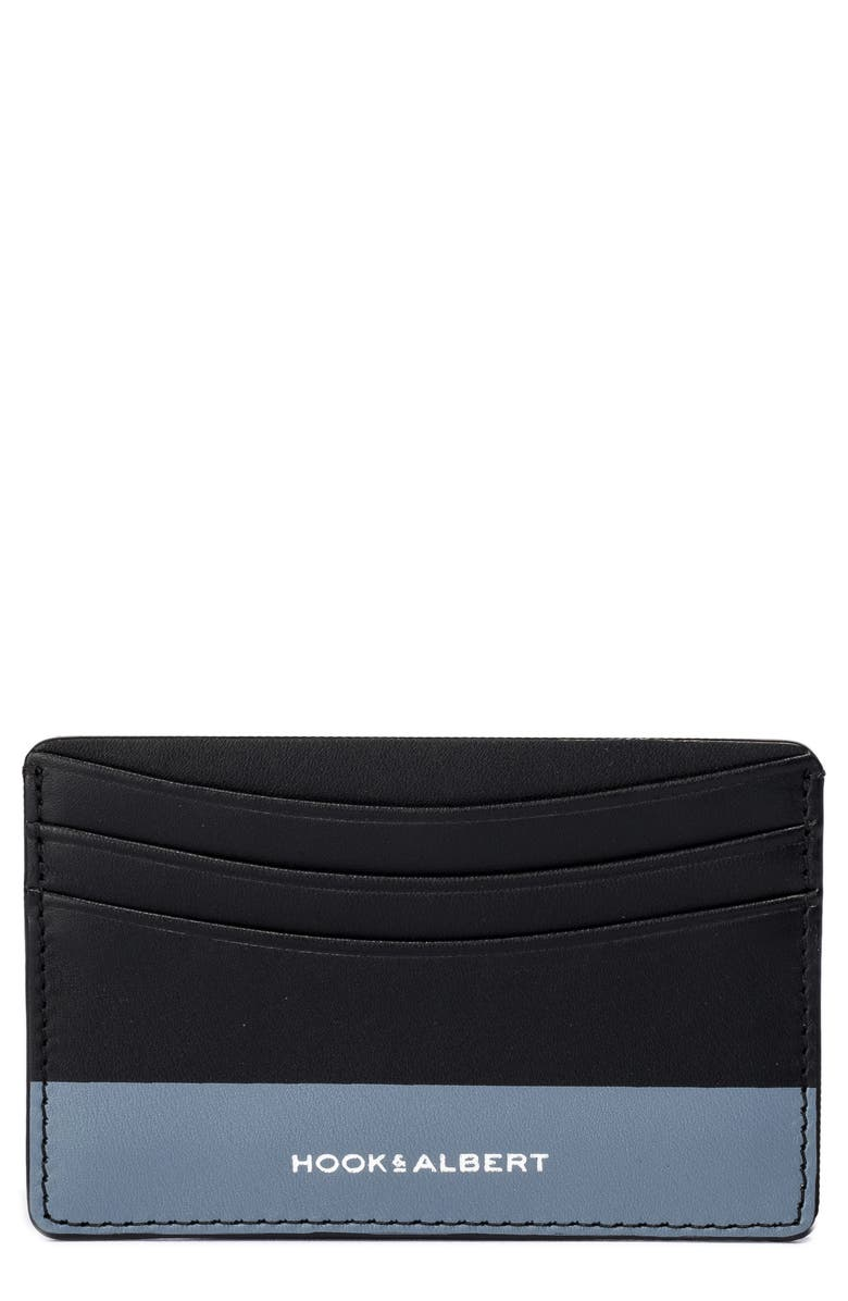HOOK + ALBERT Leather Card Case, Main, color, 020