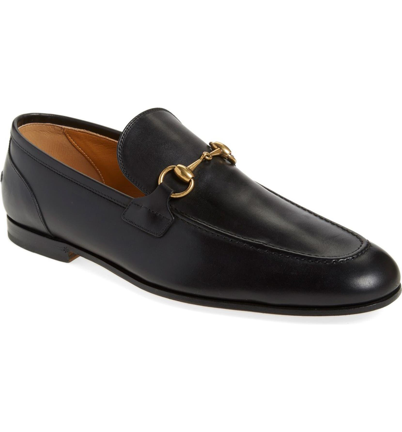427aa1cf7 Gucci Jordaan Bit Loafer (Men)   Nordstrom