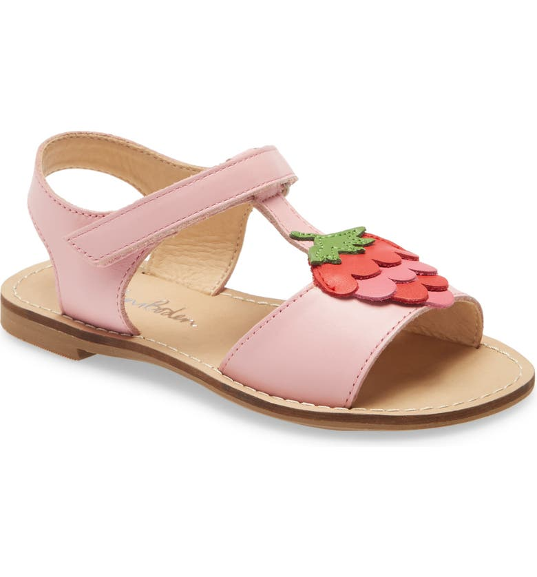 BODEN Holiday Strappy Sandal, Main, color, PINK STRAWBERRY