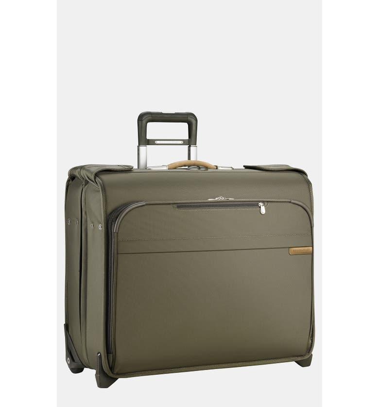 BRIGGS & RILEY 'Baseline - Deluxe' Rolling Garment Bag, Main, color, 300