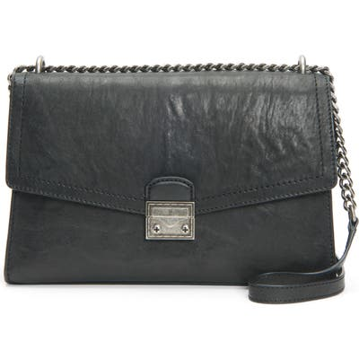 Frye Ella Leather Shoulder Bag - Black