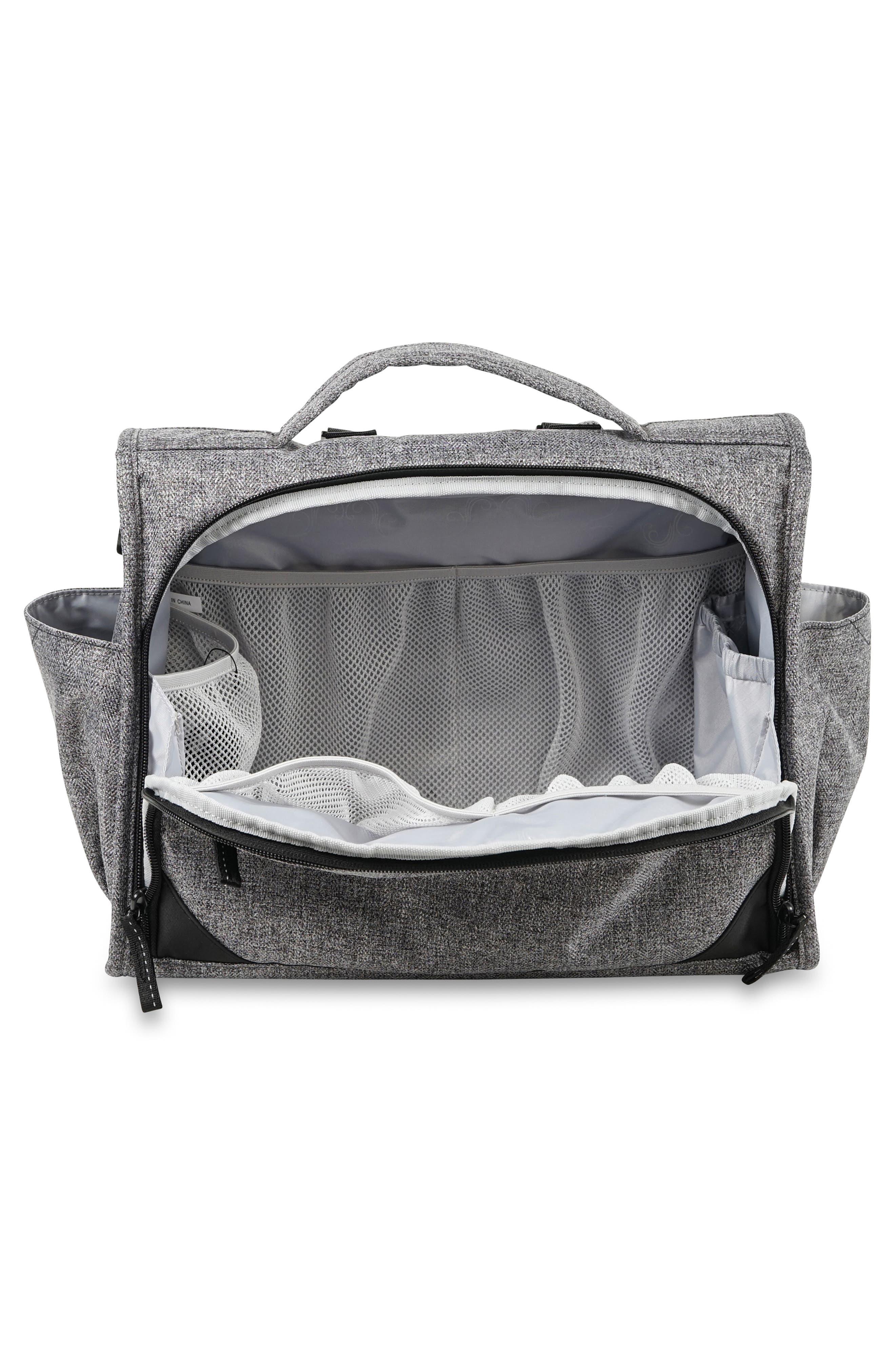 ,                             Classical Convertible Diaper Bag,                             Alternate thumbnail 3, color,                             GRAPHITE