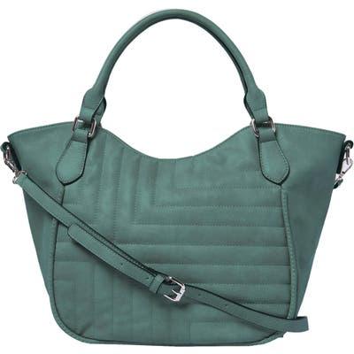 Urban Originals Iconic Vegan Leather Tote - Blue/green