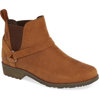 Teva De La Vina Dos Waterproof Chelsea Boot, Brown