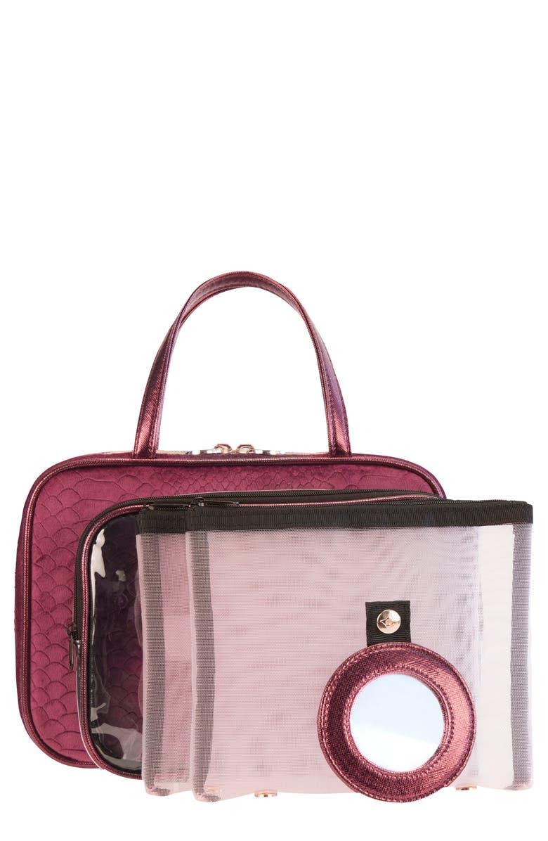 STEPHANIE JOHNSON French Kiss Marais ML Traveler Cosmetics Case, Main, color, NO COLOR