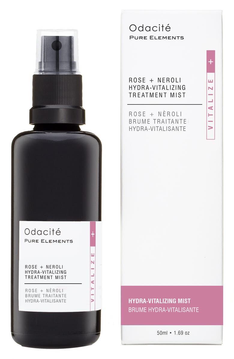 ODACITÉ Rose + Neroli Hydra-Vitalizing Treatment Mist, Main, color, NO COLOR