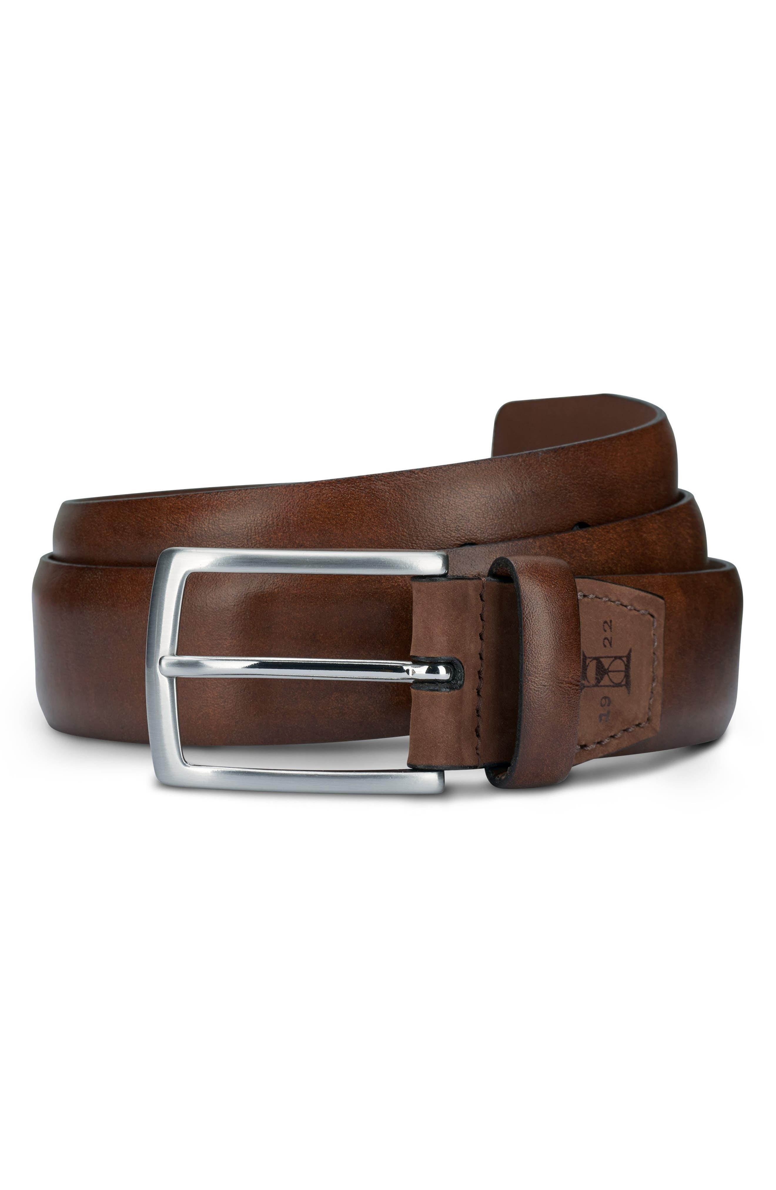 Glass Avenue Leather Belt