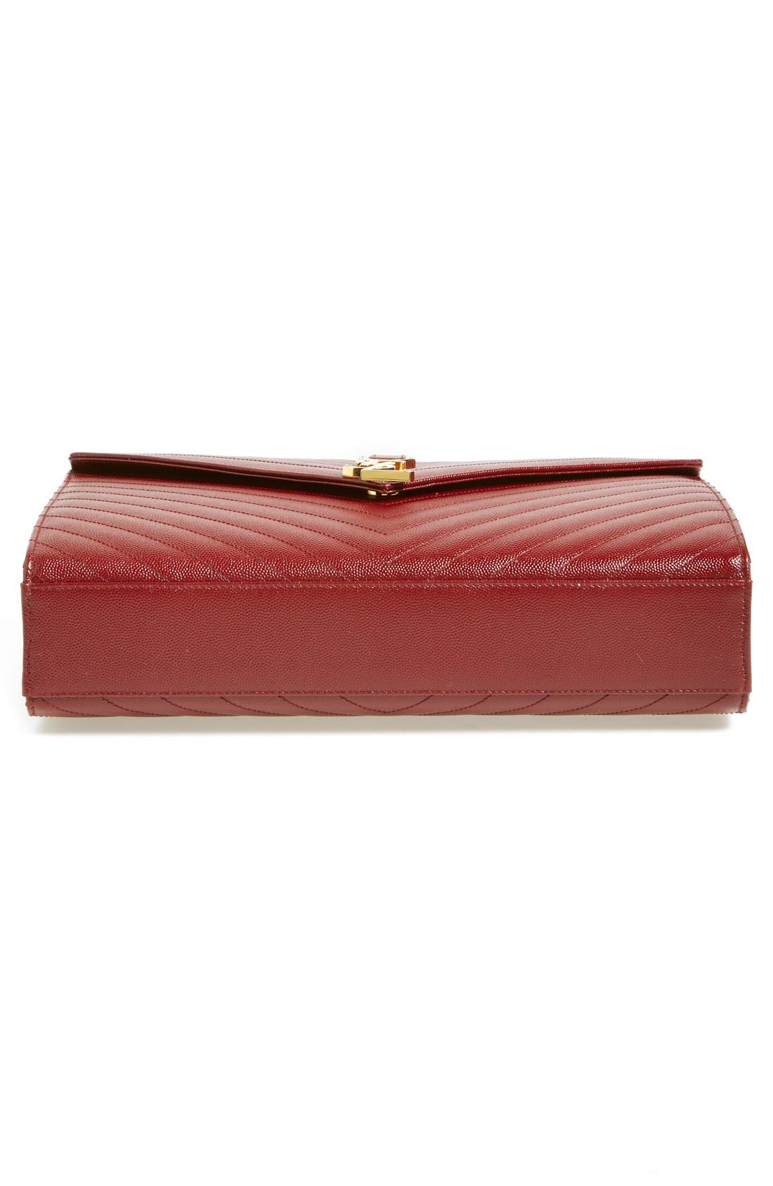 ,                             'Large Monogram' Grained Leather Shoulder Bag,                             Alternate thumbnail 56, color,                             930