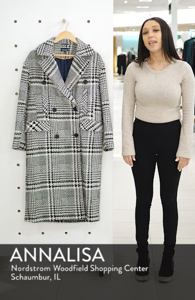 Kim Check Coat, sales video thumbnail