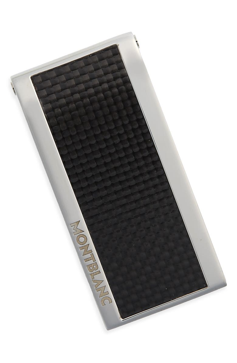 MONTBLANC Carbon Fiber Money Clip, Main, color, 040