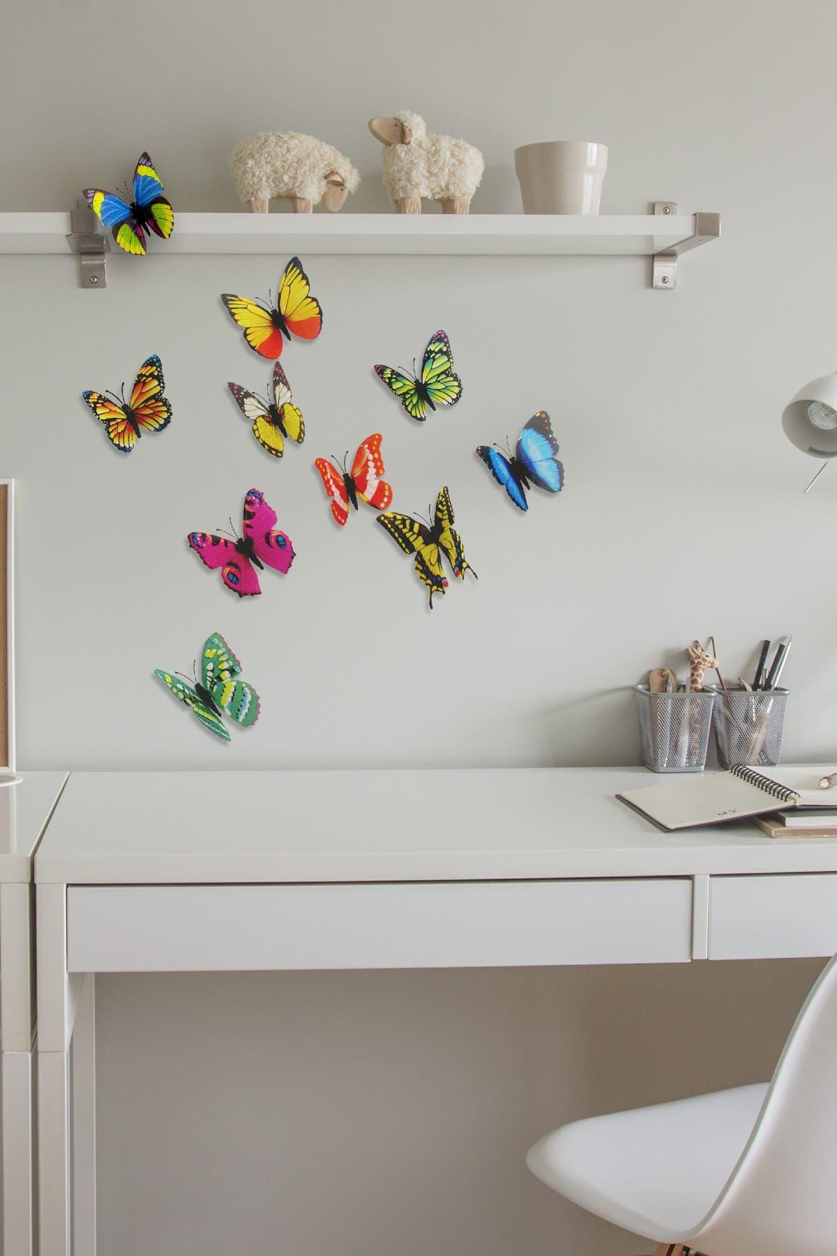 Image of WalPlus 3D Butterfly Wall Sticker
