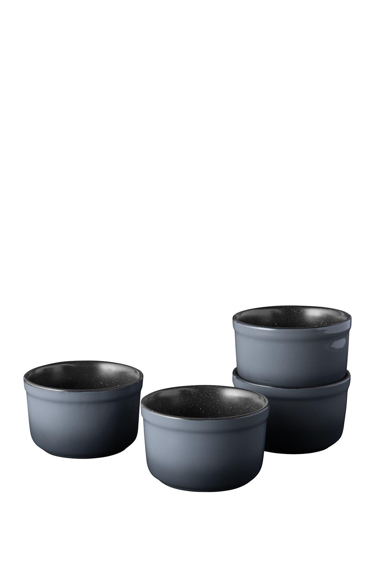 "Image of BergHOFF Grey Gem 4"" Stoneware Ramekin - Set of 4"