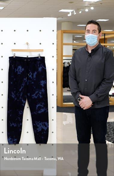 Tie Dye Men's Sweatpants, sales video thumbnail